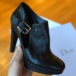 Dior ankle booties/pumps, soft Italian leather